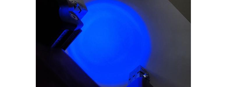Defektoskop MY-2 plus oświetlenie LED UV