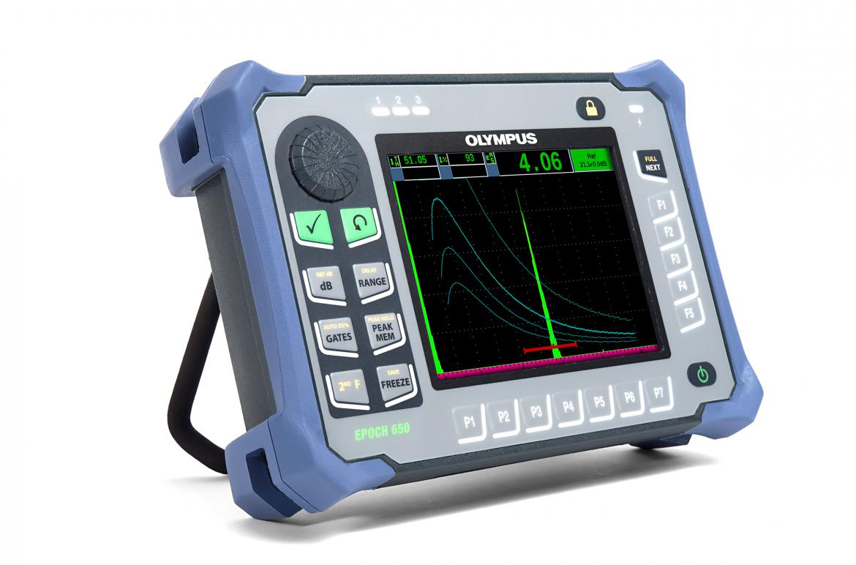 Cyfrowy defektoskop ultradźwiękowy EPOCH 650