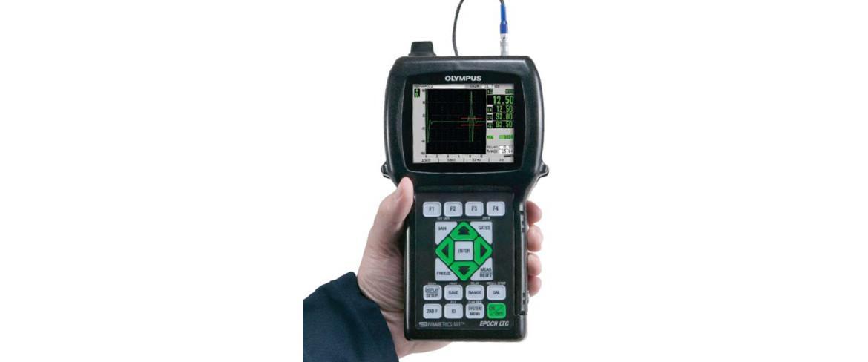 Cyfrowy defektoskop ultradźwiękowy EPOCH LTC z wyświetlaczem ciekłokrystalicznym